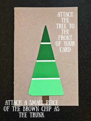 Tree on card